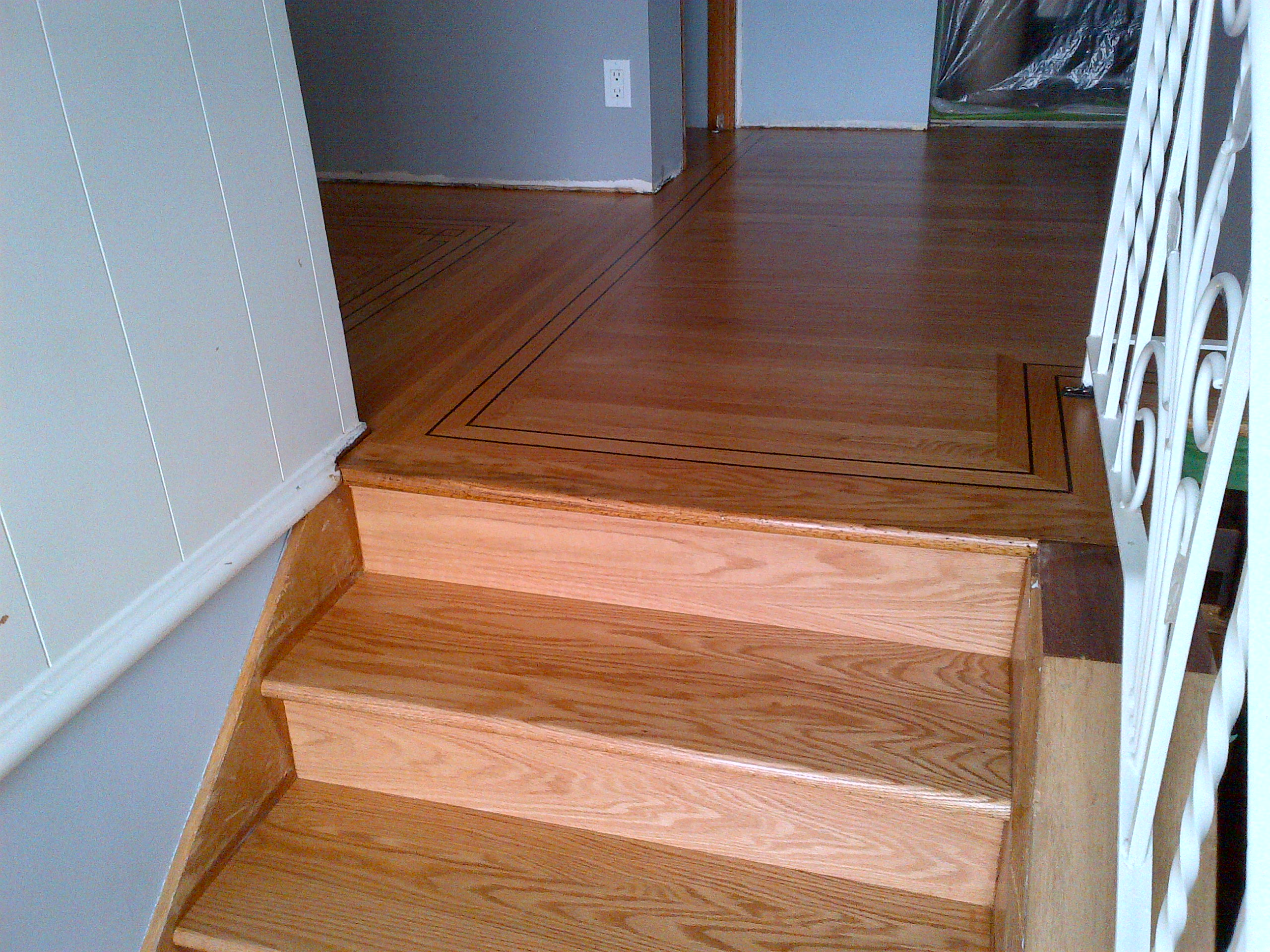 A Great Hardwood Flloor Refinishing In A Sixties Home Would Be A Rip Out  And Replace