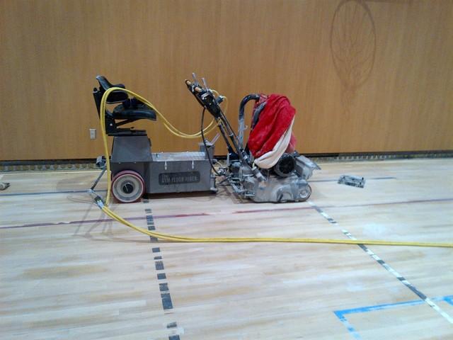 Gym Floor Rider Sander - Sanding Machine For Wood Floor €� Gurus Floor