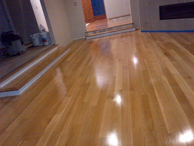 The twelve most popular hardwood floor species sold for ...